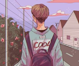 boy, art, and cool image