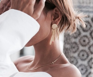 fashion, style, and earrings image