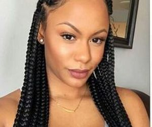braids, trend, and hairstyles image