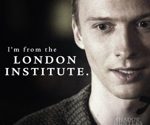the mortal instruments, will tudor, and jace wayland image