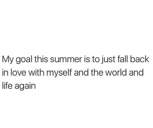 quotes, goals, and summer image