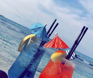 Cocktails, summer, and crete image