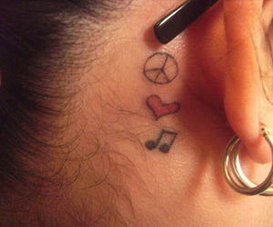 peace love and music image