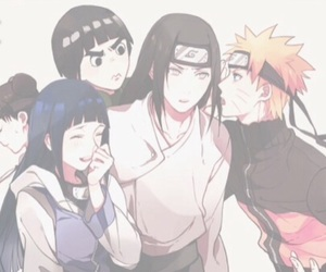 naruto, rock lee, and hinata image