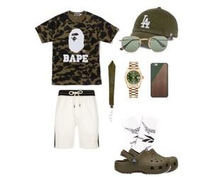 bape, vetements, and crocs image