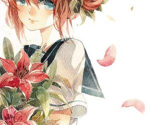 anime, kagura, and loli image