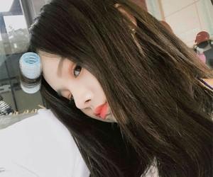 korean girl, makeup, and ulzzang hair image