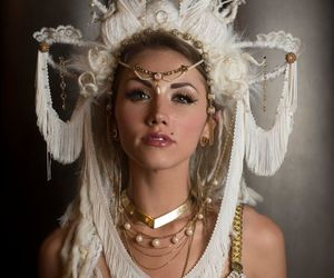 belly dance, etsy, and burningman image