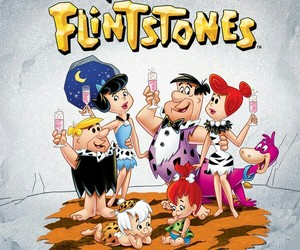 cartoon, Fred, and the flintstones image