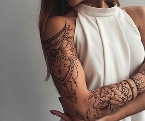 art, cool, and tattoo image