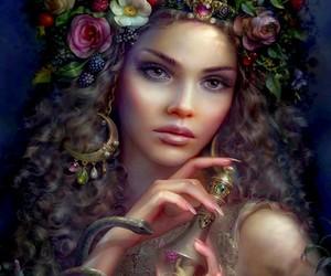 fantasy, art, and beauty image