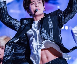 abs, jungkook, and kpop image