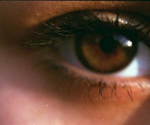 girl, brown, and brown eyes image