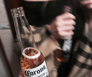 alcohol, beer, and corona image
