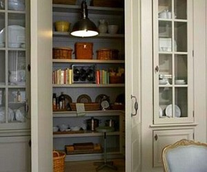 home decor, kitchen, and kitchen pantry image
