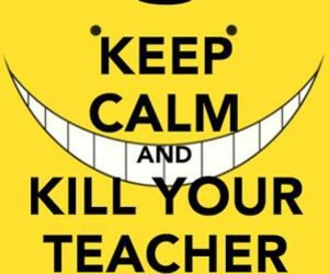 assassination classroom and teacher image
