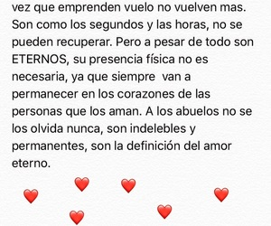 amor, frases, and abuelos image