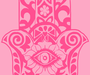 pattern, pink, and cute image