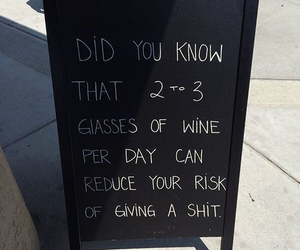 wine, funny, and quote image