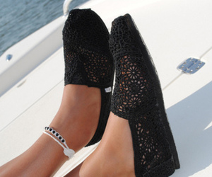 shoes, toms, and black image