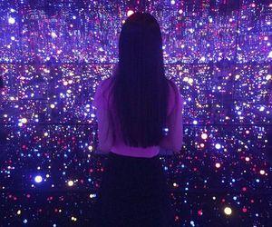 aesthetic, neon, and girl image