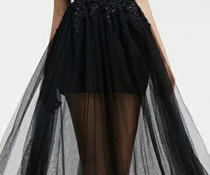 dress, style, and black image