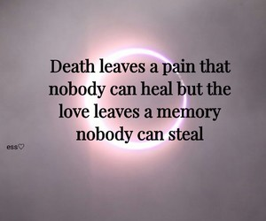 death, pain, and qoute image