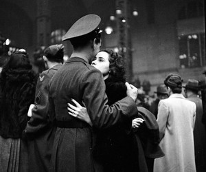 love, war, and black and white image