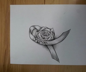 drawing, tattoo, and idea image