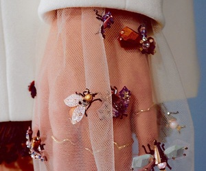 bees, Couture, and Christian Dior image