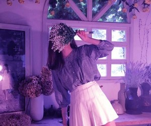 aesthetic, girl, and fashion image