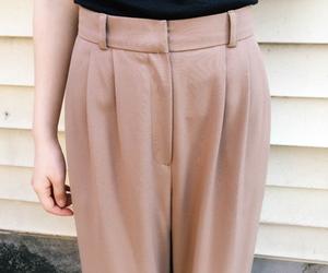 asian fashion, korean fashion, and women's bottoms image