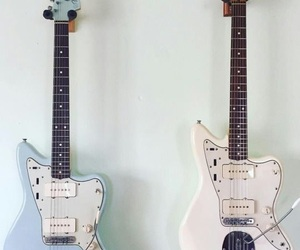 guitar, guitars, and musical instrument image