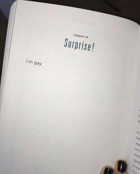 Surprise i m gay