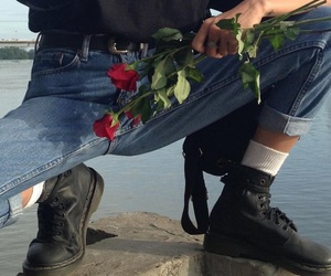 rose, aesthetic, and grunge image