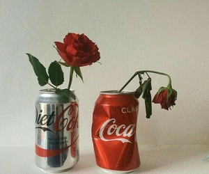 rose, red, and aesthetic image