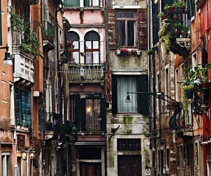 balconies, italy, and travel image