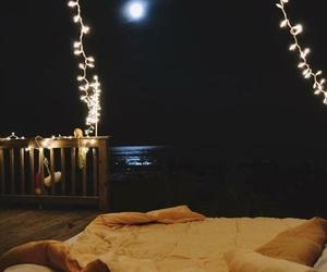 light, night, and moon image