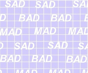 mad, sad, and aesthetic image