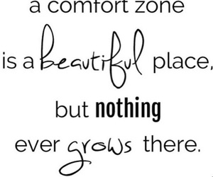 life, quote, and comfortzone image