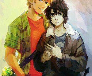 solangelo, nico di angelo, and will solace image