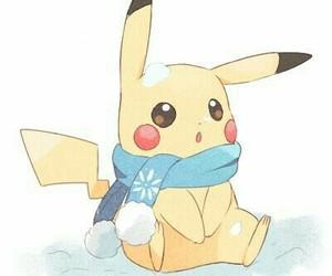 pikachu, anime, and pokemon image