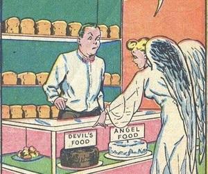 angel and comic image