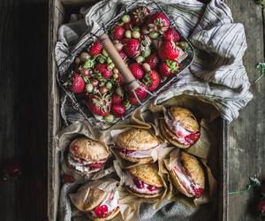 dessert, ice cream sandwich, and food image