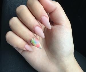 beautiful, cristals, and nails image