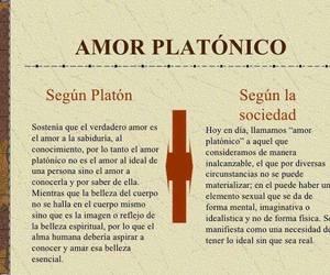 love, platon, and amor platonico image