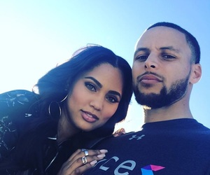 stephen, ayesha, and stephen curry image