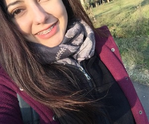 beauty, braces, and cold image