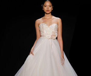 bridal gown, bride, and style image