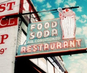 vintage, retro, and food image